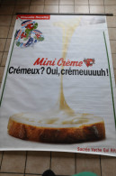 GRANDE AFFICHE LA VACHE QUI RIT - MINI CREME - Poster & Plakate