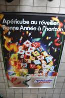 GRANDE AFFICHE LA VACHE QUI RIT - APERICUBE - Afiches