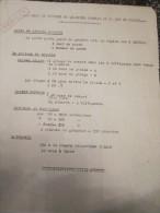 Militaria Documents Secrets Du Colonel Au Général Organisation De La Défense Du QG Troisième Région Militaire Avec Plan - Documents