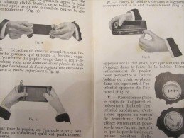 Kodak Pathé Manuel Des Appareils Hawk Eye Numéro 2 Et 2a Pliant à Bobine Modèle B Appareils Photo Objectifs Achromatique - Material Y Accesorios