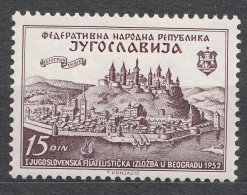 Yugoslavia Republic 1952 Mi#707 Mint Hinged - 1945-1992 Socialistische Federale Republiek Joegoslavië