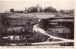 Beaulieu-sur-Layon..le Château Du Breuil..les Côteaux De Bézigon..tacot - Other Municipalities