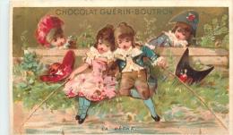 CHROMO CHOCOLAT  GUERIN BOUTRON  LA PECHE VALLET  MINOT - Guérin-Boutron