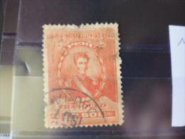 TIMBRE  OBLITERE DU PEROU  YVERT N° 117 - Peru