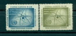 Nations Unies New York 1958 - Michel N. 66/67 - AIEA - IAEA - Unused Stamps