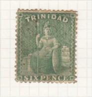 BRITTANIA - ISSUED 1859 - Trinidad & Tobago (...-1961)