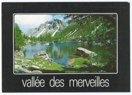 DA179 - Environs De TENDE (06) - Vallée Des Merveilles - Le Lac Vert De Fontanalbe - Circulée 1985 - Scan Recto-verso - Francia