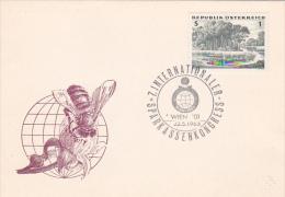 Austria 1963 7th International Sparkassen Congress  Souvenir Cover - Austria