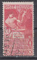Italy   Scott No. 121  Used   Year  1911 - Usati