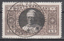 Vatican     Scott No.30    Used     Year  1933 - Usati