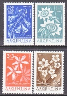 ARGENTINA  B 26-9      **  FLOWERS - Unused Stamps