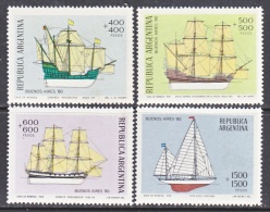 ARGENTINA  B 80-3      **  SAILING  SHIPS - Argentina