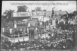 CPA Ligny En Cambrésis  Inauguration Du Monument ( 239) - Francia
