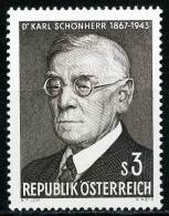 Österreich - Michel 1234 - ** Postfrisch - Karl Schönherr - 1945-.... 2. Republik