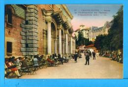 CP, 63, CHATEL-GUYON, Entrée De L'Etablissement Des Thermes, Voyagé En 1930 - Châtel-Guyon