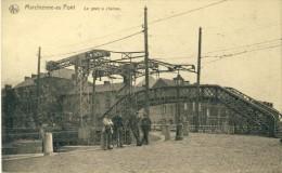 Marchienne-au-Pont - Le Pont à Chaines, Ouvriers  ( Voir Verso ) - Charleroi