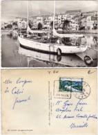 """CALVI -Le Quai Et Le Port - Voilier  """"Boréas - Amsterdam"""" Cachet Daguin(64856) - Calvi"""