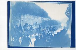 69 - TARARE - Photographie D´un Défilé D´artillerie Rue Etienne DOLET - Tarare