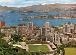 (307) Hong Kong  Victoria District And Nam Wah Football Ground - Chine (Hong Kong)