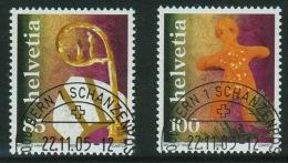 Suisse//Schweiz//Svizerra // Switzerland// 2005  Tradition De Noël No.1185-1186 Oblitéré 1er Jour - Suisse