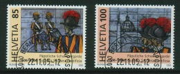 Suisse//Schweiz//Svizerra // Switzerland// 2005  T500 Ans De La Garde Suisse No.1183-1184 Oblitéré 1er Jour - Suisse