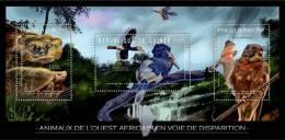 GUINEA 2012 MNH** - Endangered Animals Of West Africa (3). Official Issue - Schildpadden