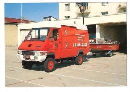 * 25 Pontarlier, Véhicule Pompier , Véhicule Intervention Subaquatique Renault Master B90 4x4 Mai 1993 - Pontarlier