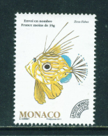 MONACO - 2011  Fish  Precancel  No Value Indicated  Used As Scan - Monaco