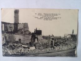 1914 Bataille De La Marne (du 6 Au 12 Sept) Sermaize Les Bains L'hôtel De La Cloche - Manoeuvres