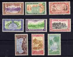 Cook Islands - 1949 - Definitives (Part Set) - MNH - Cook
