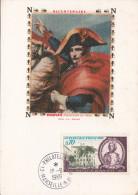 BICENTENAIRE DE NAPOLEON BONAPARTE / CARTE POSTALE PREMIER JOUR - Cartes-Maximum