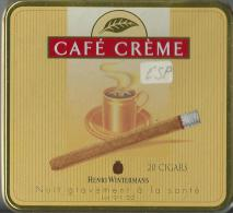 Boite A Cigare En Fer Café Creme - Sigarenkokers