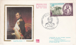BICENTENAIRE DE NAPOLEON 1er / ENVELOPPE PREMIER JOUR - FDC