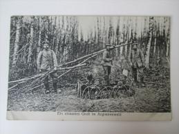 Bildpostkarte 1915 Ein Einsames Grab Im Argonnenwald K.D.Feldpostamt Des XVI. Armeekorps / II. Landwehr-Bat. Inf. 27 - Soldatenfriedhöfen