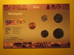 Malaysia - Serie Di 5 Monete - FDC - Malaysia