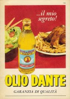 # OLIO DANTE 1960s Advert Pubblicità Publicitè Reklame Food Olio Huile Oil Ol Aceite - Posters