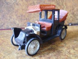 """MINIALUXE   """"  Renault 1907 - 1910  """"   Voir Etat -  3 Photos - Modele Roues Pleines - Rare - Voitures, Camions, Bus"""