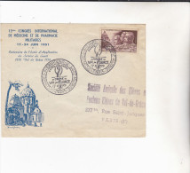 FRANCE : 13 Congrès International Du Val De Grace - Marcophilie (Lettres)