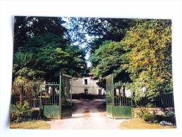 Carte Postale Ancienne : SAUMONT : L' Entrée Du Chateau - Autres Communes