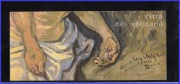 Vaticano Libretto  Van Gogh 2003 Grandi Maestri Della Pittura Sass. L10 MNH New - Unused Stamps