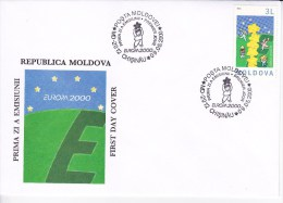 Moldova  ; Moldavie ; Moldau  ; 2000  ; Europa  ; CEPT ; FDC - Moldavia