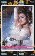M04135 China Phone Cards Madonna Puzzle 52pcs - Musik