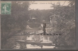 91----ATHIS--L'entrée De L'Orge---Barques--animé - Athis Mons