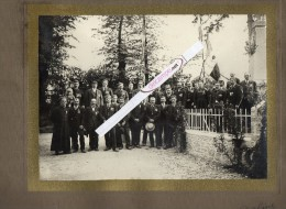 PHOTO  VERITABLE -  SAINT  MARTIN De BLAGNY  (Calvados - 127 Habitants)  Cérémonie De Remise De Médailles - 1914 - 1918 - Guerre, Militaire