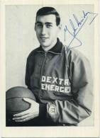 Basketbal : John Loridon     : 2 Scans    (  See Scan For Detail  )   Handtekening - Signature - Basket-ball
