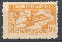 COLIS POSTAUX  YVERT N° 115 SURCHARGE ABSENTE NEUF** TTB - Algérie (1924-1962)