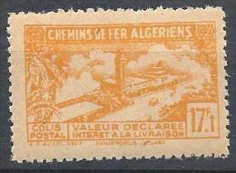 COLIS POSTAUX  YVERT N° 117 SURCHARGE ABSENTE NEUF** TB - Algérie (1924-1962)