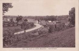 SAINT JEAN Sur ERVE  -  Vue Partielle Du Village ( Route De Laval Au Mans ) - - France