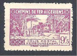 COLIS POSTAUX  YVERT N° 154 SANS SURCHARGE NEUF** LUXE - Algérie (1924-1962)