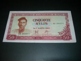 Guinee.  50 Sylis  1980. - Guinea